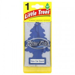 LITTLE TREES - NEW CAR SCENT AIR FRESHENER 24 PACK