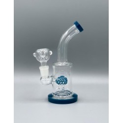 GLASS PCL3759 ERUPTION TUBE WATER PIPE