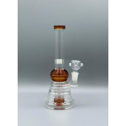 GLASS PCL3764 CURVED NECK WATER PIPE