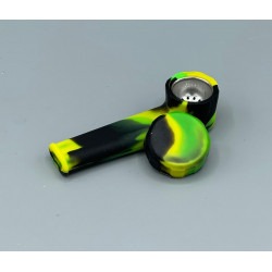SP-056 SILICONE PIPE AND METAL BOWL