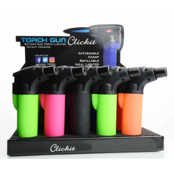 CLICK IT TORCH LIGHTER 15CT DISPLAY - GH 10877