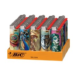 BIC SPECIAL EDITION TATTOOS SERIES LIGHTERS - 50CT