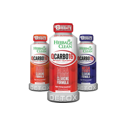 DETOX HERBAL CLEAN QCARBO 16 Oz
