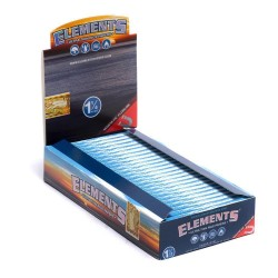 ELEMENTS 1-1/4  ROLLING PAPERS 25 PER BOX