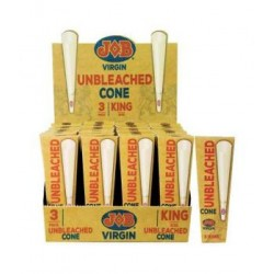 JOB UNBLEACHED CONE KING SIZE