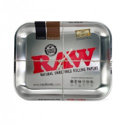 RAW ROLLING METAL TRAY SMALL