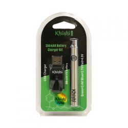 KHUSHI 350MAH VARIABLE VOLTAGE 510 THREAD BATTERY KIT